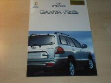 20921) Hyundai Santa Fe Austria Prospekt 200?