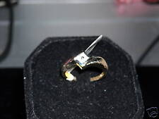 14kt Diamond Yellow Gold Ring!!!  # 35888 SIZE 7    Dainty and pretty!