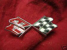 C2 Corvette Cross Flag Nose Emblem 67 GM 3894544