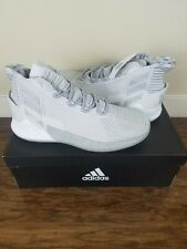 adidas D Rose 9 Size 9.5 BB7159 Basketball Men Shoes Grey Silver SNEAKERS