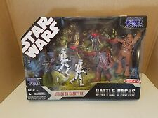 Star Wars 30th Anniversary Saga 2007 Exclusive Action Figure Battle Pack Attack