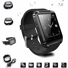 Men Bluetooth Smart Wrist Watch Phone Mate For Android Samsung Galaxy Note 5 4 3