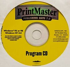 PrintMaster Publishing Suite 7.0 Program CD