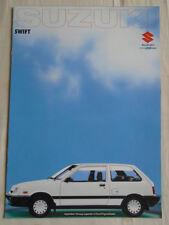 Suzuki Swift range brochure c1998 German text
