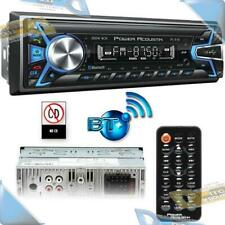 NEW POWER ACOUSTIK In-Dash Mechless Bluetooth Audio Car Stereo USB/SD/AUX Radio