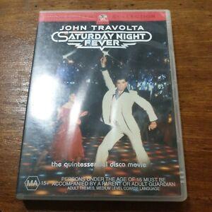 Saturday Night Fever DVD R4 Like New! FREE POST