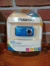 Polaroid A200 2Mp Digital Camera Blue W/Usb Cable & Cd-Rom Software ~Brand New~