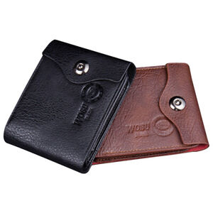 New Fashion Men Wallets Leather Hasp Coin Mini Purse Credit Card Holder