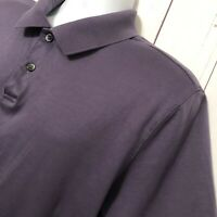 "Calvin Klein Men's Purple Golf Polo Shirt ""Sz Large"" Short Sleeve"