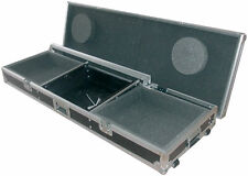 Citronic Flightcase for A Mixer and 2x Turntables Ideal for DJs w/ removable lid