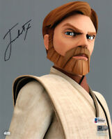 JAMES ARNOLD TAYLOR SIGNED 8x10 PHOTO OBI WAN STAR WARS CLONE WARS BECKETT BAS