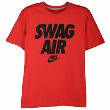 "Nike ""Swag Air"" T-Shirt Gym Red/Black Men's XL BNWT FAST FREE SHIPPING!"