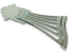 Fan Style Diecast archtop Nobel Heavy tailpiece Chrome Jazz Guitar semiacoustic