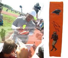 Cam Newton Carolina Panthers Signed Autographed Football End Zone TD Pylon Proof