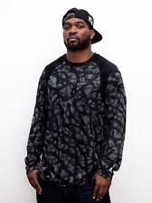 Nike Air Jordan Manga Larga T-Shirt Mens tamaño Mediano Estampado De Camuflaje