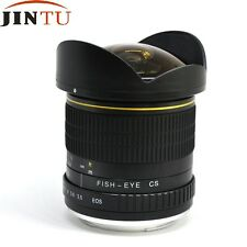 AF Confirmed Super Wide 8mm f/3.5 Fisheye Lens for Canon 5D 70D 6D 60D 700D 7D