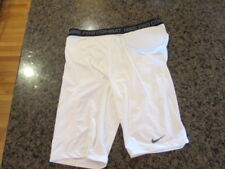 NIKE Pro Combat Hyperstrong Padded Football Shorts 369931 white 3XL XXXL NWT New