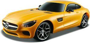 "Maisto Tech Remote Control Car "" Mercedes AMG Gt "" (Yellow) R/C Scale 1:24 Car"