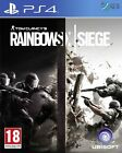 Tom Clancy's Rainbow Six Siege PS4 6 * NEW SEALED PAL *