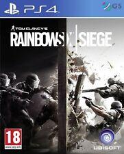 Tom Clancy's Rainbow Six Siege PS4 6 * NEW SEALED PAL *
