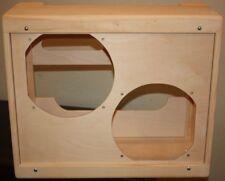 rawcabs 5E8 narrow panel twin low power pine empty combo cabinet