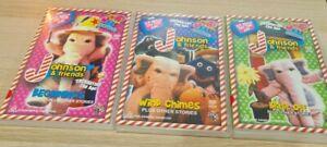Johnson and Friends Volumes 1 - 3 DVD Region 4 Beginnings Wind Chimes Blast Off