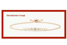 NWT Kate Spade FULL CIRCLE Slider Cubic Zirconia Bangle Bracelet  Rosegold