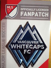 Official Embroidered MLS Soccer Vancouver Whitecaps FC Logo Iron or Sew On Patch
