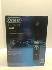 New Oral-B Genius 8000 Electronic Toothbrush Midnight Black Edition