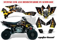 Amr racing décor Graphic Kit ATV suzuki ltr 450 Lt-r Motorhead B