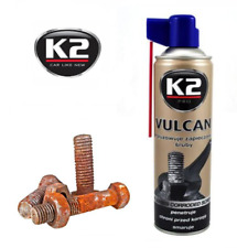 K2 Vulcan Release Spray Corroded Rusted Bolts Nuts Screw Penetrating Oil 500 ml