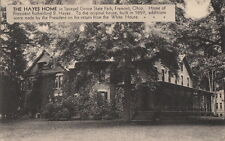Postcard Hayes Home Spiegel Grove State Park Fremont OH