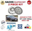 Para Jaguar Tipo X CF1 2.0D 130bhp 2003- > SACHS 2 piezas NUEVO KIT DE EMBRAGUE