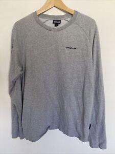 Pataonia Long Sleeve Sweat Shirt T Shirt | Marl Grey | RRP £45.00