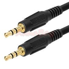 25ft 3.5mm AUX AUXILIARY CORD Male to Male Stereo Audio Cable PC iPod MP3 CAR