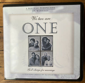 Biblical Perspective On Marriage Teaching Alistair Begg CD set We Two Are One