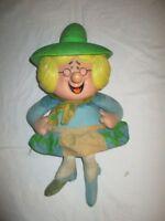 Vintage 1970 Mother Goose  Doll Mattel MUTE