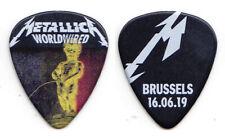 Metallica James Hetfield Brussels 6/16/19 Guitar Pick - 2019 WorldWired Tour
