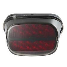 LED Tail Light Fits Harley Davidson Softail Electra Brake Turn Signal Smoke Lens