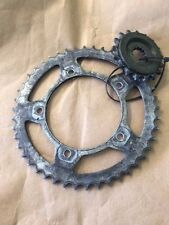 USED SUZUKI GSXR 750 GSXR 600 2007 FRONT REAR SPROCKETS