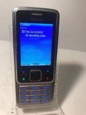 Nokia 6300 - Silver & Black (Unlocked) Mobile Phone