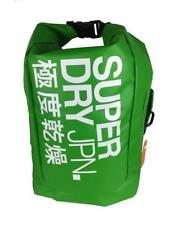 SUPERDRY Scuba Roll Top Back pack GREEN Swimming Outdoor Boat Dive Boat Dive Dry