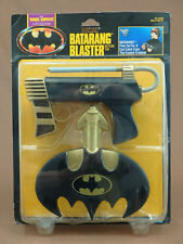 BATMAN THE DARK KNIGHT COLLECTION BATARANG BLASTER 1990 KENNER