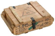 Munitionskiste T45 Aufbewahrungskiste Militärkiste Munitionsbox Holzkiste