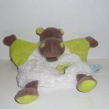 Doudou Hippopotame Basile Babynat Baby Nat'