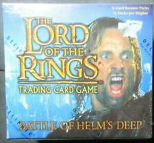 LORD OF THE RINGS BATTLE OF HELM'S DEEP TRADING CARD GAME BOOSTER 36 PACK BOX