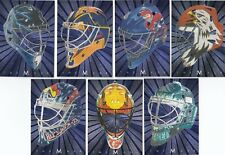 2001-02 BAP Between the Pipes The Mask 7 Card Lot