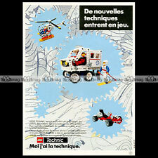 LEGO TECHNIC 'Artic Rescue Unit 8660' (1986) Pub / Publicité / Advert Ad #A1061