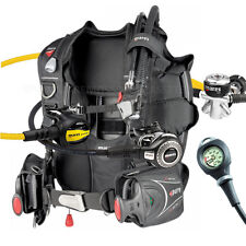BUCEO EQUIPMENT MARES PACKAGE BCD PURE TAMAÑO XLARGE YUGO REGULATOR ABYSS GAUGE