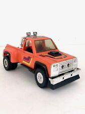 Vintage 1985 M.A.S.K. Kenner Orange Firecracker Truck Toy Heavy Duty Dually